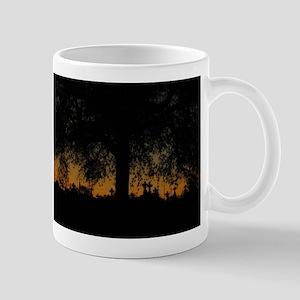 New Orleans Cemetary Sunset Mug