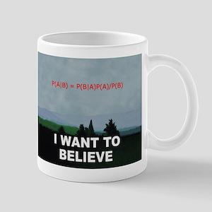 I want to Believe Bayesian Mug