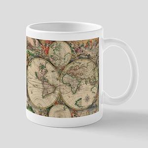 Antique Old World Map Mug