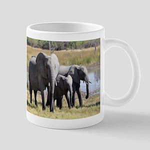 Wild Elephants Mugs