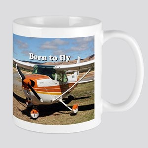 Born to fly: high wing aircraft Mugs