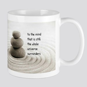 The Mind That Is Still Mugs