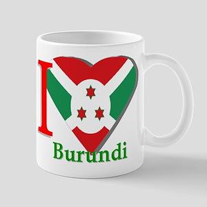 I love Burundi Mug