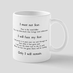Litany Against Fear Mug