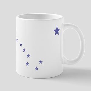 Faded Alaska State Flag Mug