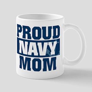 US Navy Proud Navy Mom Mug