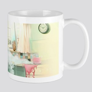 Pin up Girl In Kitchen Mugs