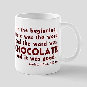 Chocolate Word Mug