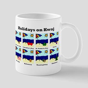 Holidays on Kwaj (Mug)