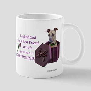 Greyhound (Brindle) Mug