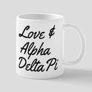 Alpha Delta Pi Love 11 oz Ceramic Mug
