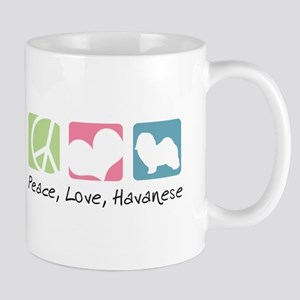 Peace, Love, Havanese Mug