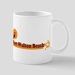 Fort Walton Beach - Beach Design. Mug