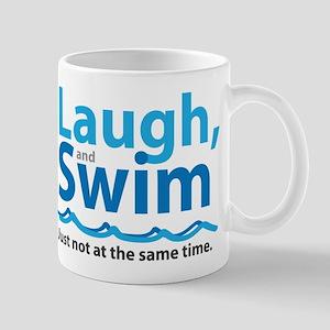 Laugh and Swim Mugs