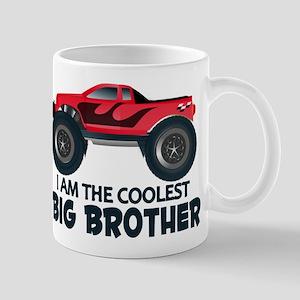 Coolest Big Brother - Truck Mug