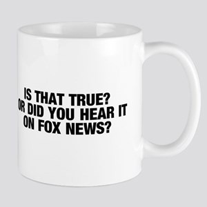 Is that true? Mug
