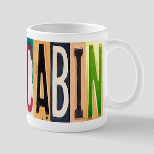 Cabin Letters Mug