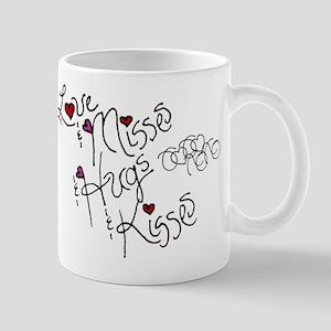 Love & Misses & Hugs & Kisses Mug
