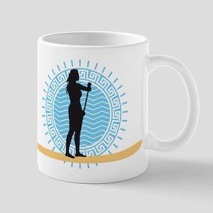 stand up paddling Mugs
