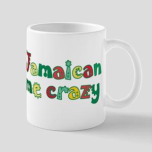 Jamaican Me Crazy 11 oz Ceramic Mug