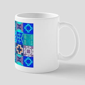 Blue Navajo Symbols Mug Mugs