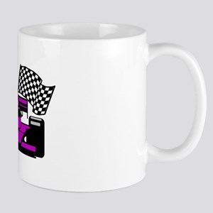 PURPLE RACE CAR Mug