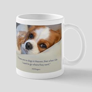 Cavalier King Charles Spaniel in Heaven Mug