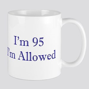 95 I'm Allowed 3 Dk Blue Mugs