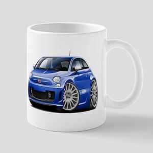 Abarth Blue Car Mug