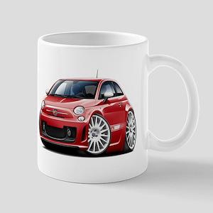 Abarth Red Car Mug