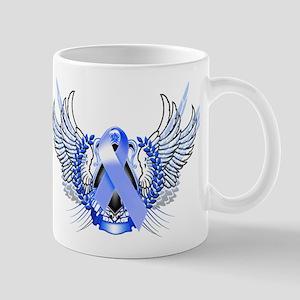 Awareness Tribal Blue Mug