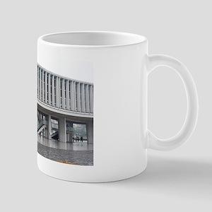 hiroshima peace memorial museum buildin Mug