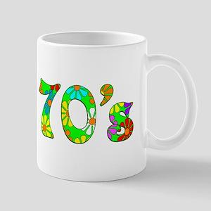 70's Flowers Mug