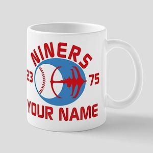 YOUR NAME Niners Baseball Star Trek DS9 Mugs