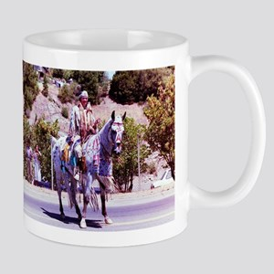 Indian on a horse Mugs