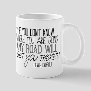 Any Road Lewis Carroll Mug