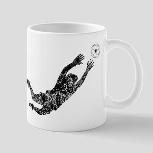 Vintage Soccer Goalie Mugs