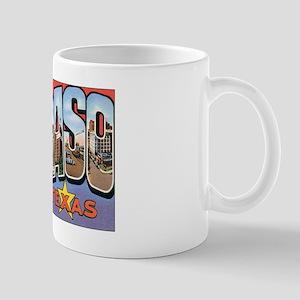 El Paso TX Postcard Mug