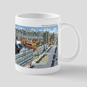 Salt Lake City Utah UT Mug
