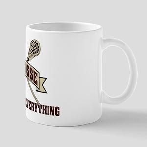 Lacrosse Attitude Is Everything Mug