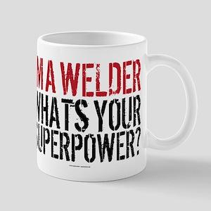 Welder is my Superpower Mugs
