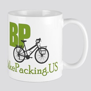 Bikepacking.US green Mug