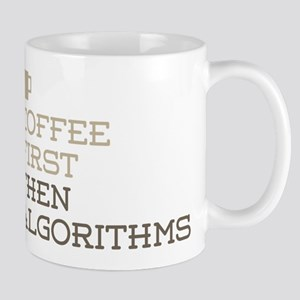Coffee Then Algorithms Mugs
