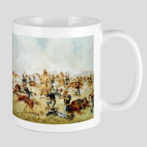 Custer Massacre at Big Horn Mugs