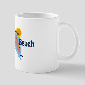 Fort Myers - Map Design. Mug