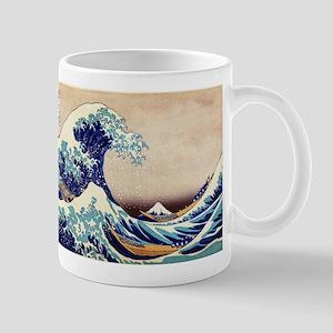 Great Wave Off Kanagawa Mugs