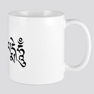 Om Mani Padme Hum Mantra in Tibetan Mug