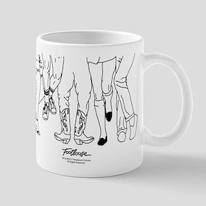 Footloose Cartoon Feet 11 oz Ceramic Mug