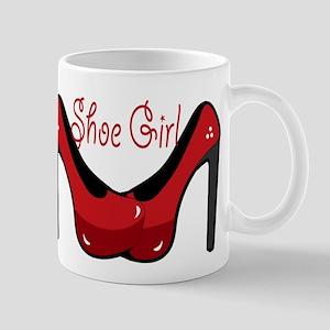 Shoe Girl Mugs