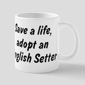 Adopt English Setter Mug
